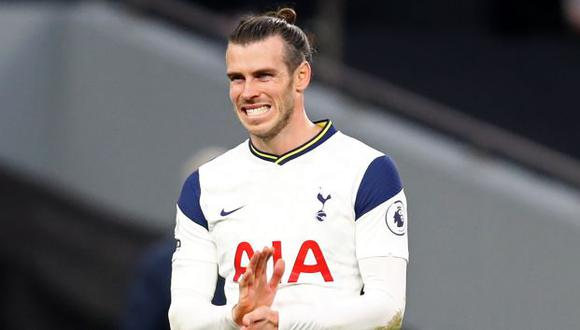 Gareth Bale está cedido en el Tottenham por el Real Madrid hasta final de temporada. (Foto: AFP)