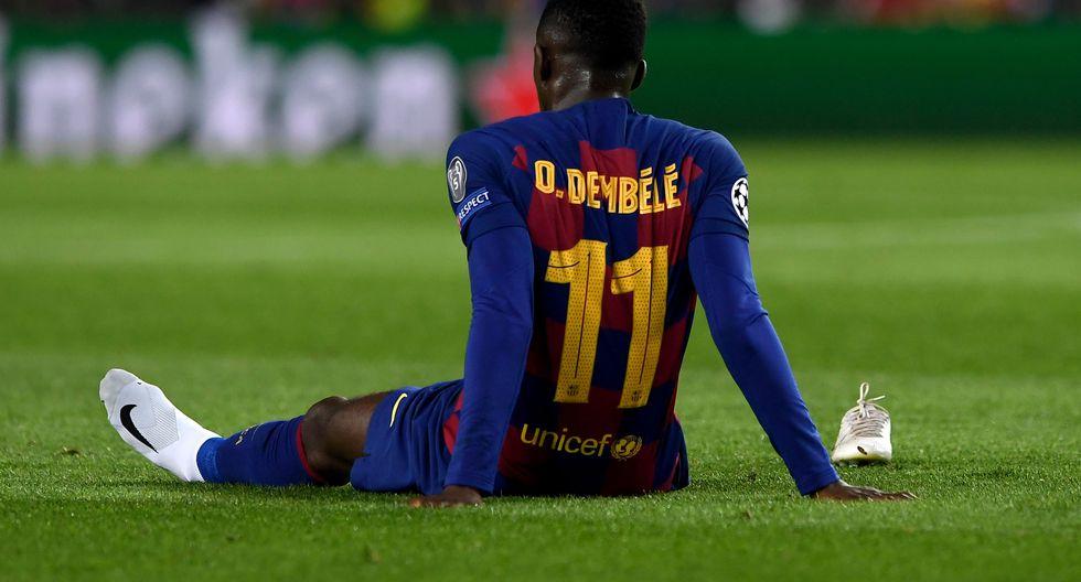 Ousmane Dembélé - Barcelona - lesón en el muslo. (Agencias)