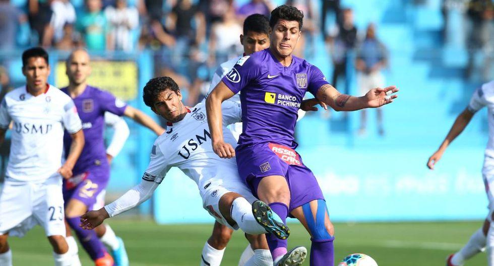 Alianza Lima vs. San Martín se enfrentaron en el Gallardo por el Torneo Clausura. (Foto: Fernando Sangama / Jesús Saucedo / GEC)