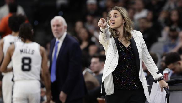 Los elogios de LeBron a Becky Hammon tras ser la primera mujer en dirigir en la NBA. (Foto: NBA)