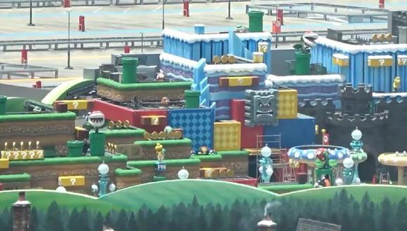 Parque temático de Nintendo (Captura de pantalla)