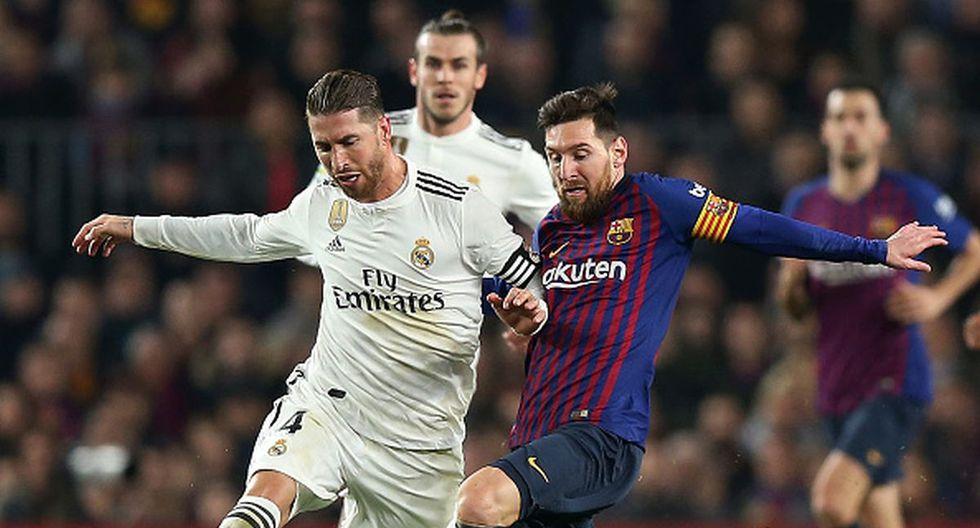 Barcelona y Real Madrid se medirán en el mes de diciembre por LaLiga. (Foto: Getty Images)