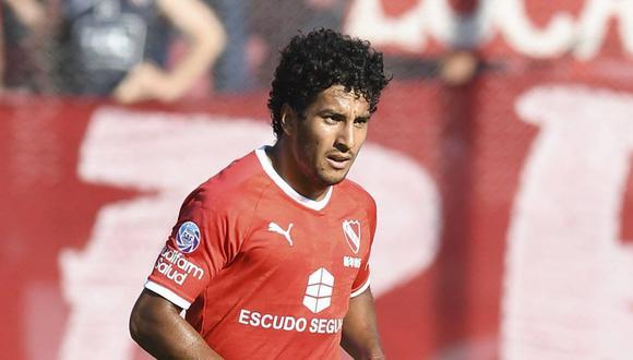 Cecilio Domínguez llegó a Independiente a comienzos del año pasado por seis millones de dólares. (Foto: TyC Sports)