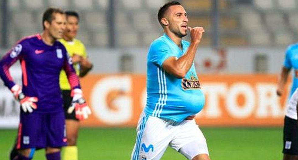Los goles de Herrera con Cristal en la Liga 1 (Foto: GEC)