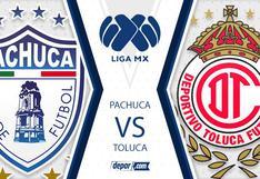 Sigue EN VIVO Pachuca  vs. Toluca por la fecha 12 del Torneo Apertura 2020 Liga MX