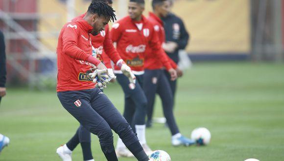 Gallese ya vive el amistoso de la Selección Peruana. (Foto: GEC)