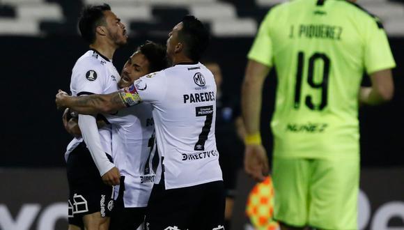 Colo Colo vs. Peñarol por la tercera jornada de la Copa Libertadores 2020. (Foto: AFP)
