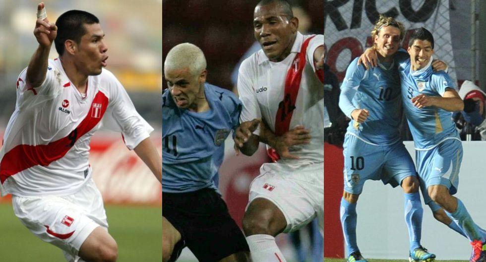 Perú vs. Uruguay: historial de los últimos 10 enfrentamientos. (Foto: Archivo / Agencias / Internet)