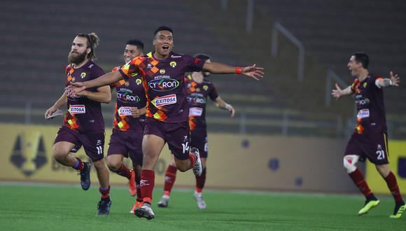 Santa Rosa jugará frente a Unión Comercio por los octavos de final de la Copa Bicentenario. (Foto: Liga de Fútbol Profesional)