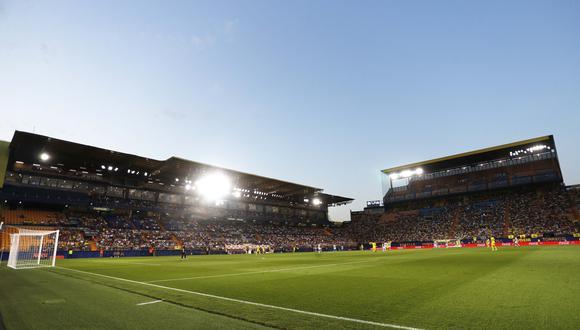 El estadio de La Cerámica será uno de los estadios que tendrá público en LaLiga el fin de semana. (Foto: AFP)