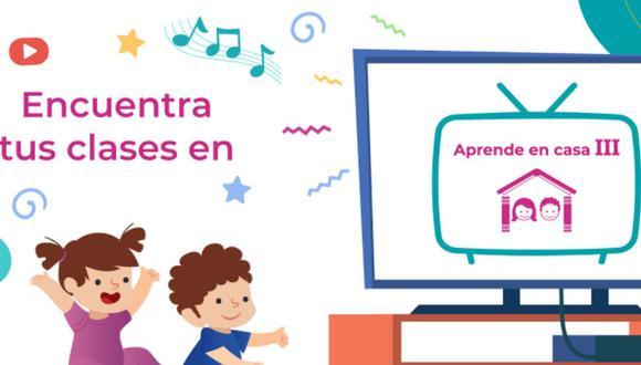 Aprende en Casa III: mira la programación, guía de TV y más a través de los canales oficiales de la SEP en México (Foto: aprendeencasa.sep.gob.mx)