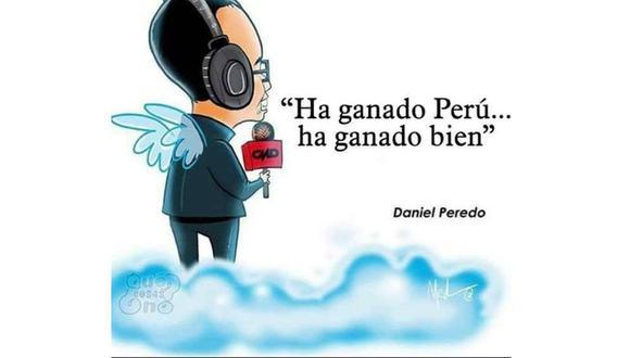 Pedro Eloy le dedicó el triunfo de la bicolor a Daniel Peredo con un emotivo mensaje. (Foto: Instagram)