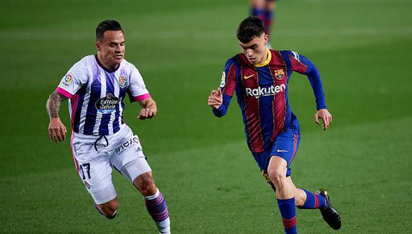 Pedri llegó al FC Barcelona tras jugar en Las Palmas. (Getty)