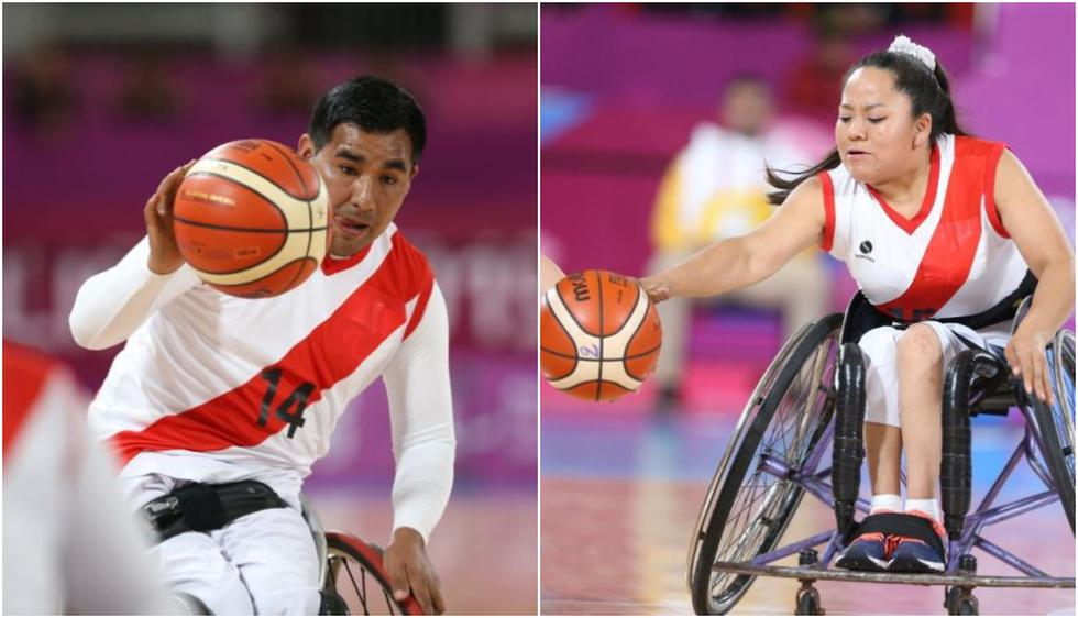 Perú perdió ante Brasil en básquet en silla de ruedas en varones y damas en los Juegos Parapanamericanos 2019. (Fotos: Violeta Ayasta)