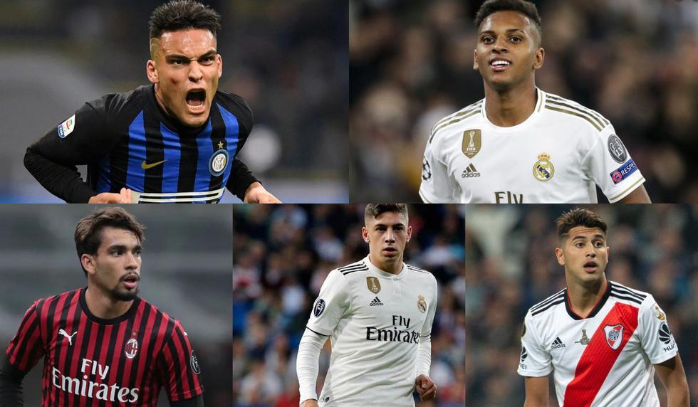 El XI de jugadores sudamericanos del futuro [FOTOS]