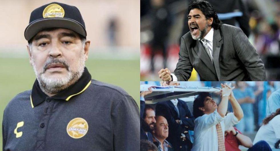 Diego Maradona tiene la misión de sacar a Gimnasia de puestos de descenso. (Fotos: Difusión)