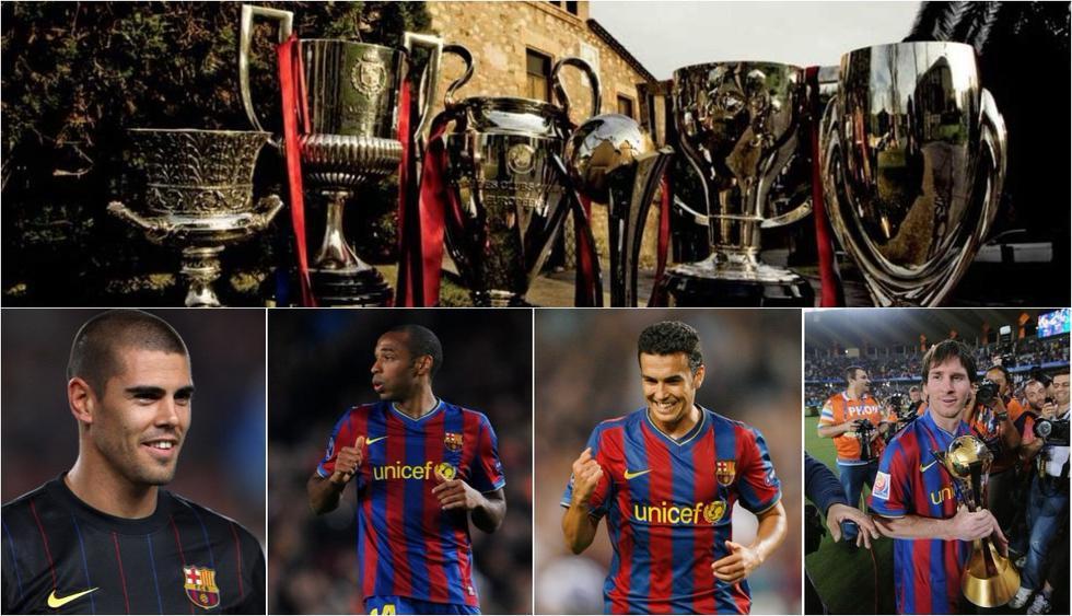 Qué del XI del Barcelona que ganó el primer sextete en la historia del fútbol. (Internet)
