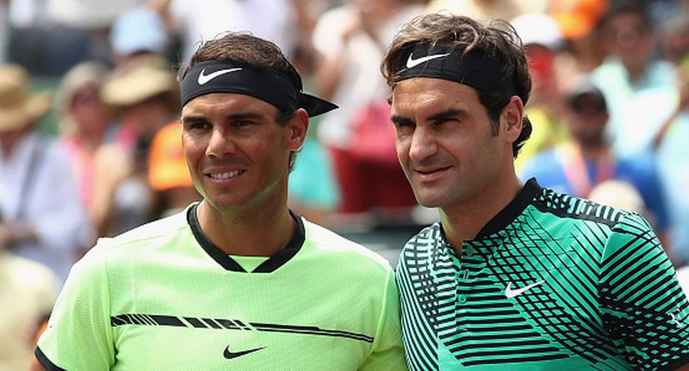 Roger Federer vs Rafael Nadal EN VIVO vía ESPN: fecha, horarios y canales del trigésima novena duelo (39) entre ambos tenistas. (Getty Images)