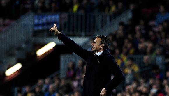 Luis Enrique no seguirá en el FC Barcelona. (Getty)