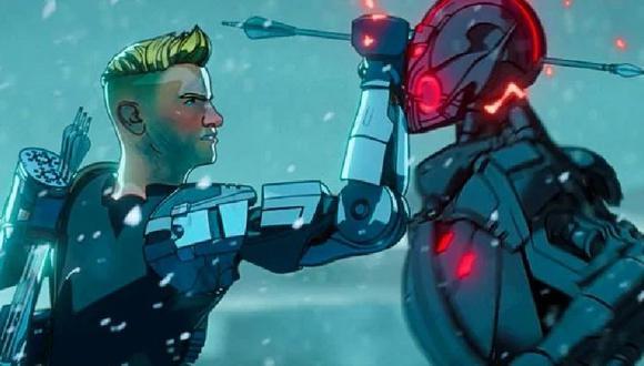 """La razón por la que Hawkeye tiene un brazo robótico en """"What If...?"""""""