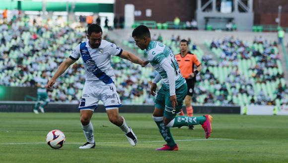 Santos Laguna vs. Puebla se vieron las caras este domingo por la jornada 17 de la Liga MX 2021 (Foto: @ClubSantos)