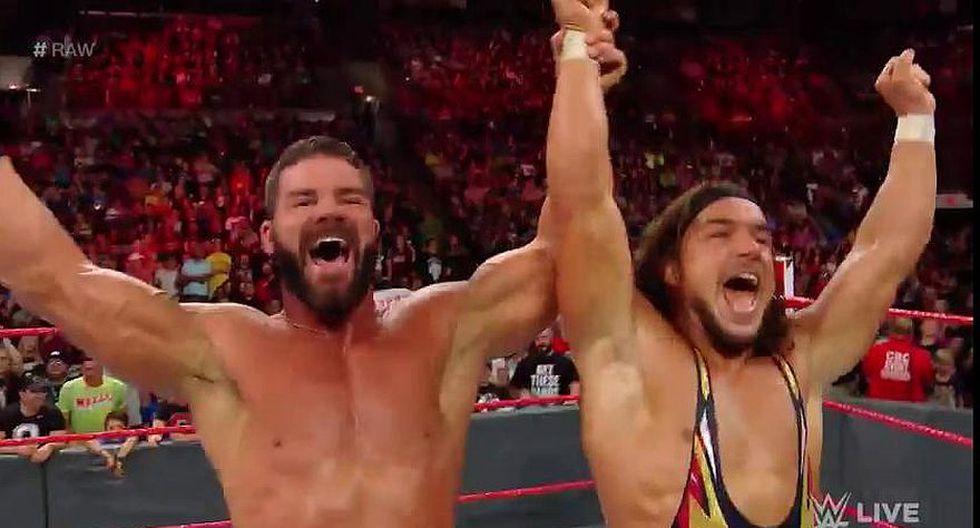 Bobby Roode y Chad Gable vencieron a The Ascension. (WWE)