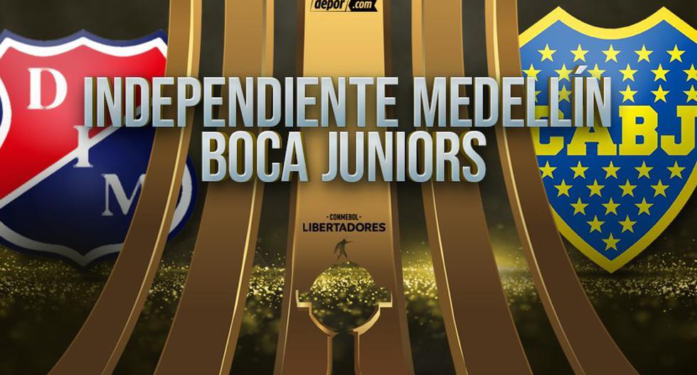 Boca vs Independiente Medellín EN VIVO en ESPN: minuto e incidencias por Copa Libertadores