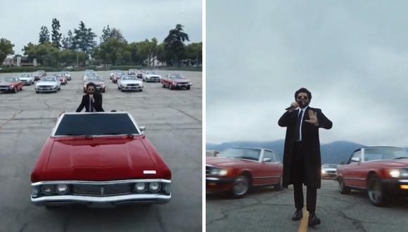 """The Weeknd cantó """"Save your tears"""" dejando a todos con la boca abierta. (Foto: Captura TNT)."""