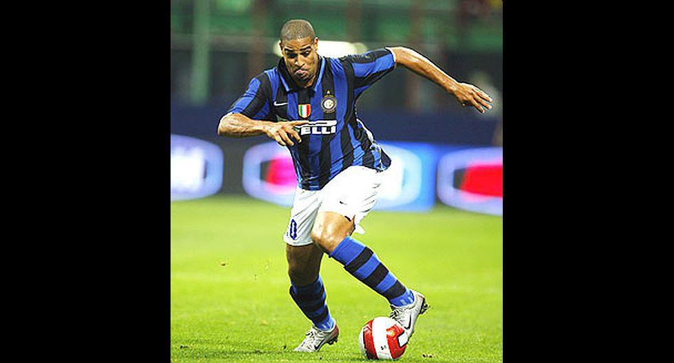 21.- Adriano (Inter de Milán), en 34.5 millones de dólares. (Foto: Agencias)
