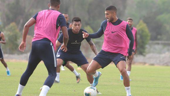 Josepmir Ballón fue titular en el partido de práctica que realizaron los íntimos ante Cantolao. (Foto: Alianza Lima)