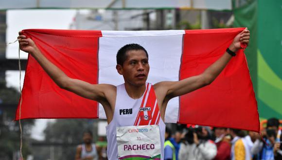 Cristhian Pacheco terminó la maratón masculina de Tokio 2020. (Foto: IPD)