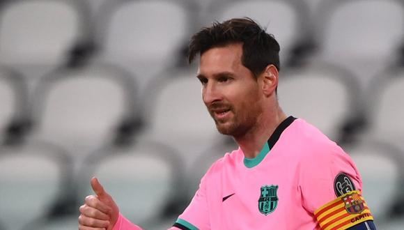 El presidente de Conmebol quiere a Lionel Messi en la Copa Libertadores. (Foto: AFP)