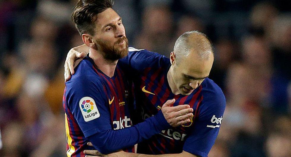 Andrés Iniesta se retiró del Barcelona en el 2018. (Getty Images)