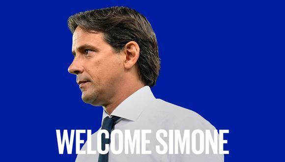 Simone Inzaghi fue anunciado como nuevo entrenador del Inter de Milán. (Foto: Inter de Milán)