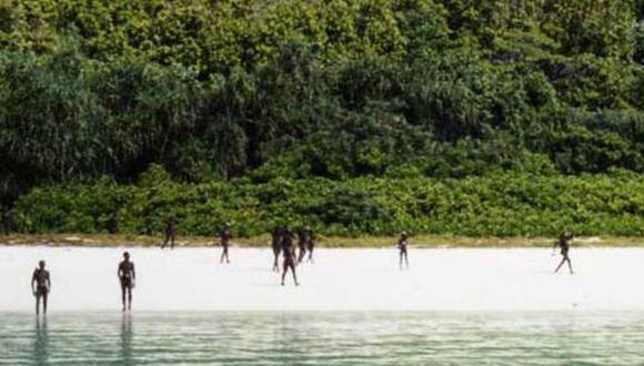 Descubre a la tribu de los Sentinel del norte en Google Maps. (Foto: The Indian Coast Guard )