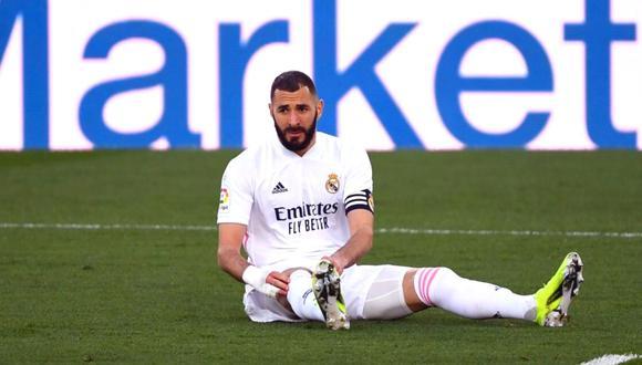 Karim Benzema lleva 17 goles con Real Madrid esta temporada. (Foto: AFP)