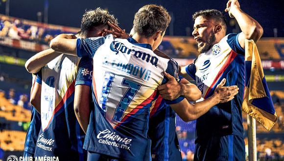 Tigres vs. América se midieron por la jornada 14 de la Liga MX 2021 este sábado (Foto: Getty Images)