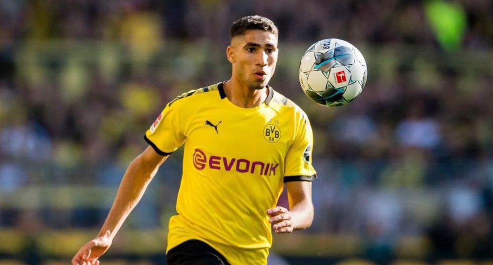 9. Achraf Hakimi del Borussia Dortmund. (Foto: Getty)
