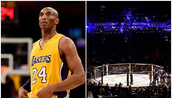 UFC rendirá tributo a Kobe Bryant este sábado en el evento numerado 247 desde Texas. (Getty Images)