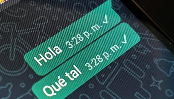 Conoce el método para cambiar la hora en los mensajes enviados en WhatsApp. (Foto: Depor)
