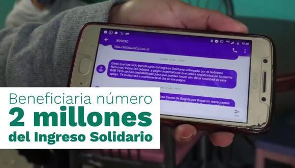 Ingreso Solidario $480.000 DNP: cómo acceder al beneficio y cuándo cobrar tercer giro. (Captura)