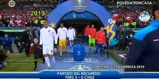 Recuerda el partido frente a Chile que nos llevó a disputar la final de la Copa América 2019