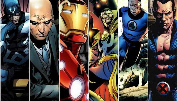 Los Illuminati, un grupo secreto de superhéroes que trabajaba en secreto (Foto: Marvel Comics)