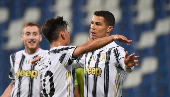 Juventus enfrentó a Sassuolo por la Serie A de Italia