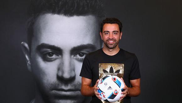 Xavi Hernández fue jugador del FC Barcelona hasta 2015. (Getty)