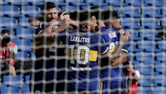 El 'Xeneize' se impuso 1-0 a Lanús y avanzó a cuartos de la Copa de la LFP (Foto: Boca Juniors)