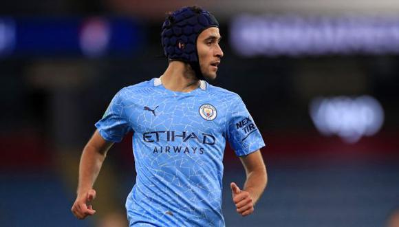 Eric García tiene contrato con Manchester City hasta el 30 de junio próximo. (Foto: AFP)