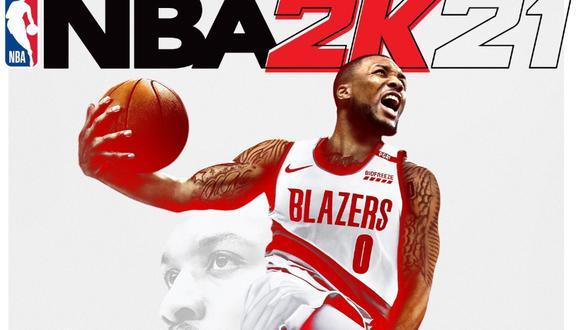 NBA 2K21: Damian Lillard será la portada del juego. (2K Games)