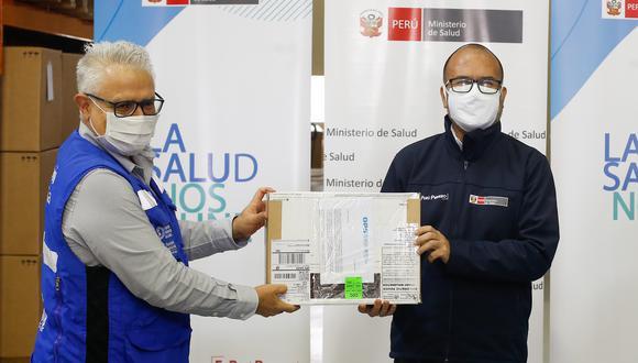 Donación entregada será utilizado en el laboratorio central del INS en Lima. (Foto: Minsa)