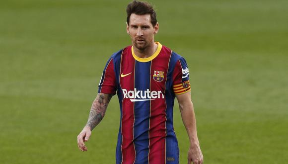 Lionel Messi estuvo apunto de marcharse del Barcelona en el último mercado de pases | Foto: REUTERS